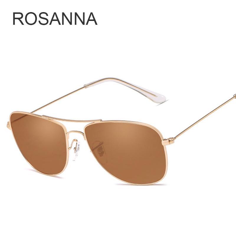 afe51b6af53 ROSANNA Small Round Sunglasses Women Men Classic Brand Designer ...