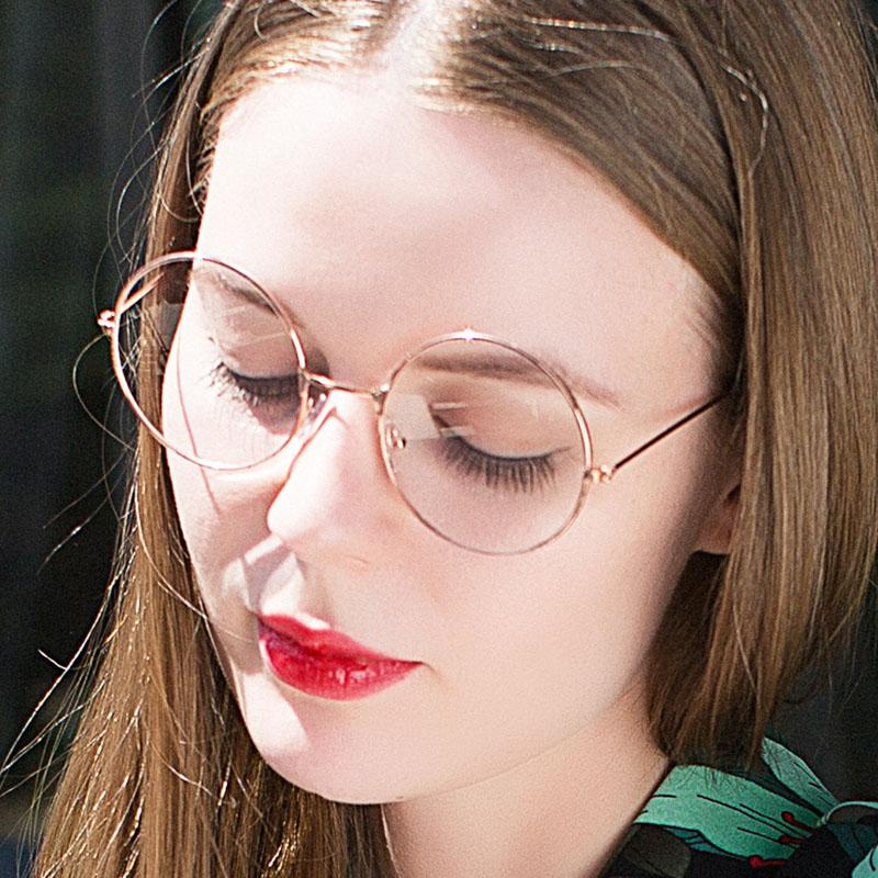 4328f5dc06d 2019 AMII New Women Round Glasses Frames Glasses With Clear Lens Men  Optical Spectacle Frame Transparent Glasses For From Watercup