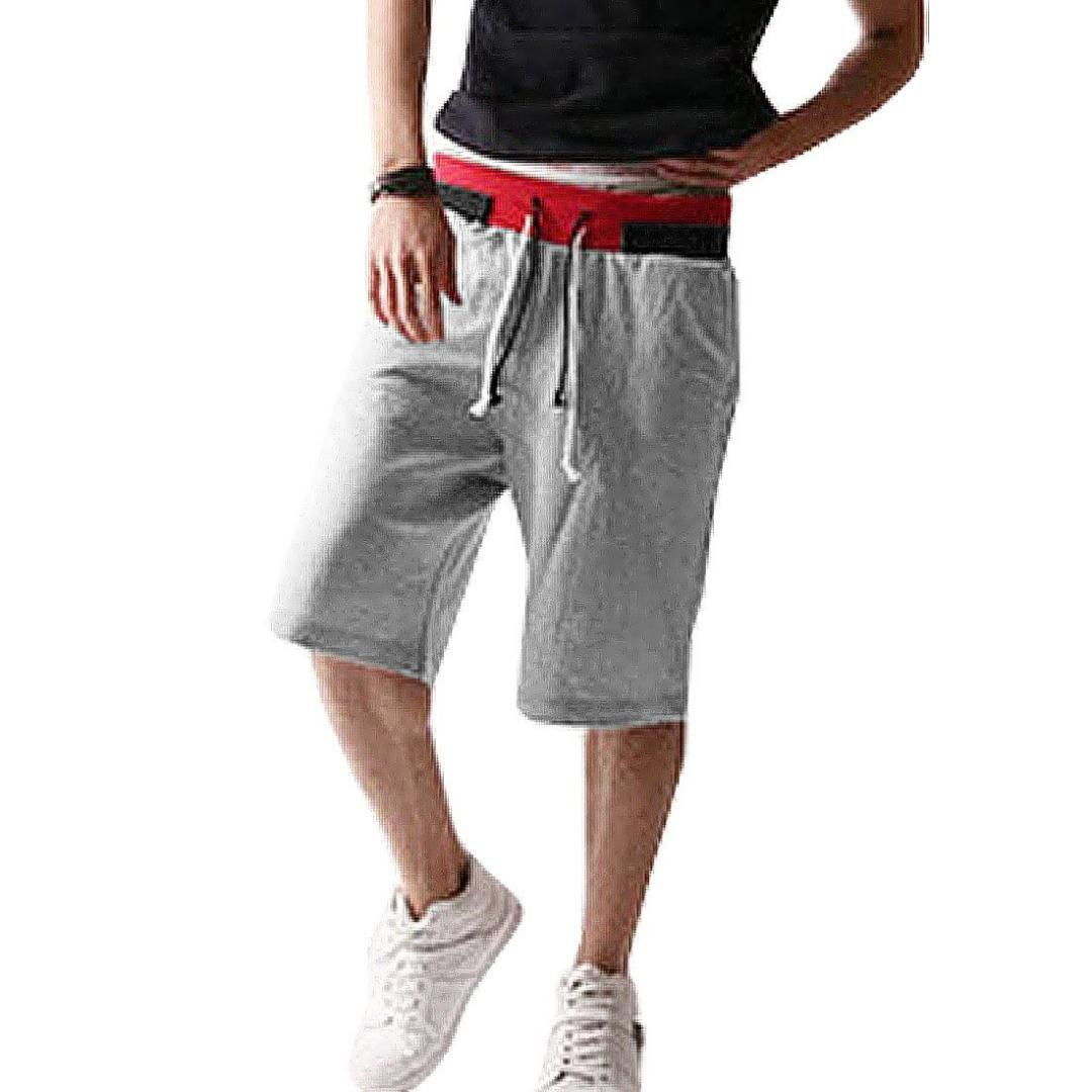 b0343b883d0 ... Short Pants Trousers Casual Shorts Cheap Casual Shorts TOP Light Gray  Stylish Mens Casual Cool Online with  38.52 Piece on Saltblue s Store