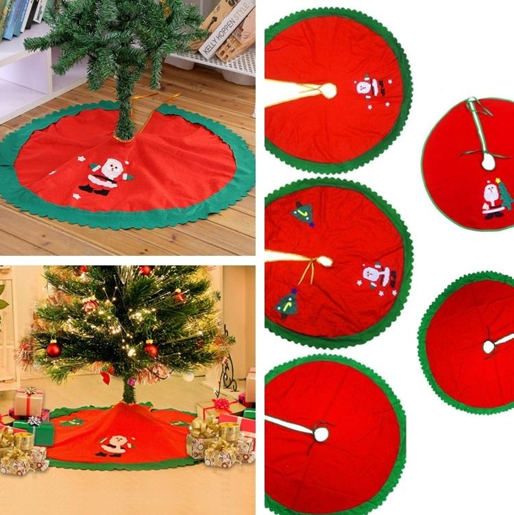 Wholesale Christmas Tree Skirt 60cm, 90cm Nonwoven Fabrictree Skirt Christmas  Tree Decoration Christmas Decorations I428 Christmas Lawn Ornaments  Christmas ... - Wholesale Christmas Tree Skirt 60cm, 90cm Nonwoven Fabrictree Skirt
