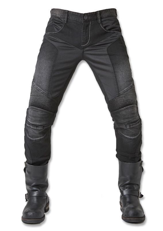 e4c6a3e7 Compre UglyBROS JUKE UBP 01 Black Jeans Verão Malha Respirável Homens  Calças Jeans Motocicleta De Protecção De Corrida Calças Moto De Miaotang,  ...