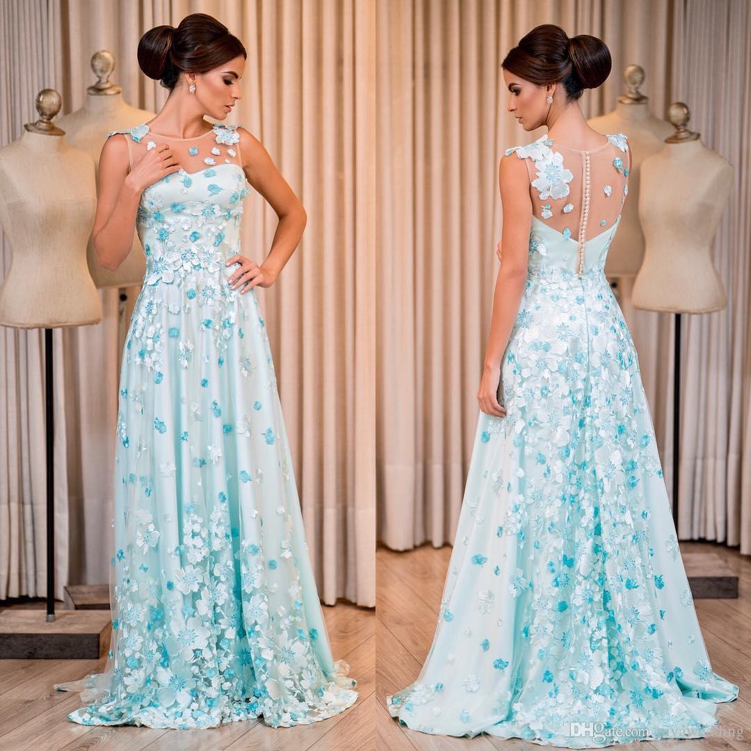 b28cdbe03234 Cheap Elegant Sexy Sheer Jewel Neck A Line Evening Dresses Long Prom Gowns  Covered Button Plus Size Custom Made Cheap Vestidos De Festa Js Boutique  Evening ...