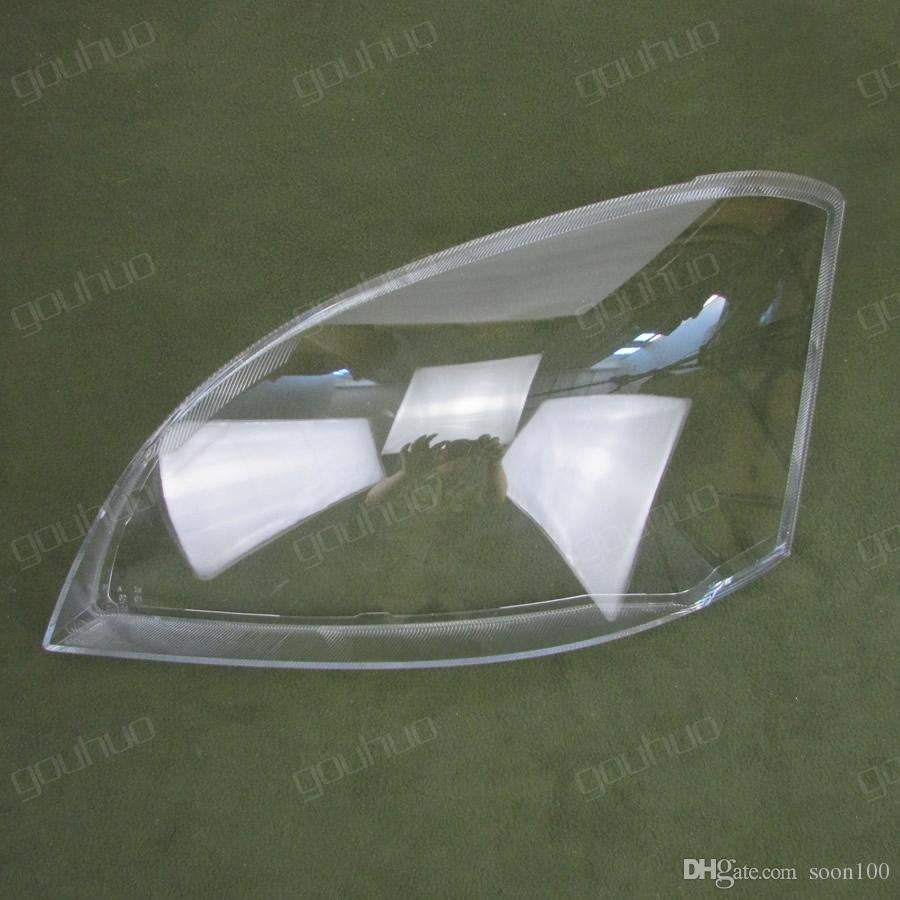2PCS Headlight shell plastic protective shell transparent protective  headlamp glass lampshde for Chery A5 Cowin 3