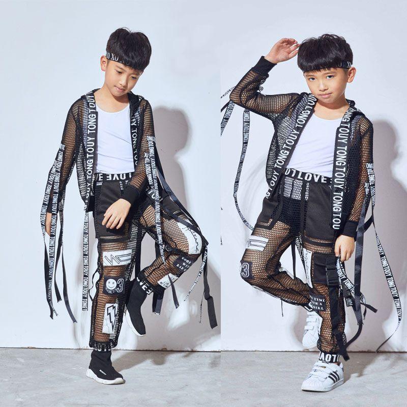 1b89c344c1335 Compre 2018 Nueva Hip Hop Traje De Baile Niños Niños Uniforme De Béisbol  Jazz Trajes De Danza Street Clothing Performance Wear DN1812 A  82.74 Del  Junqingy ...