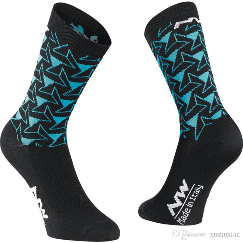 Cycling Socks Men Women Anti-sweat Outdoor Sports Running Basketball Sport Socks Bicycle Bike Socks Calcetines Ciclismo