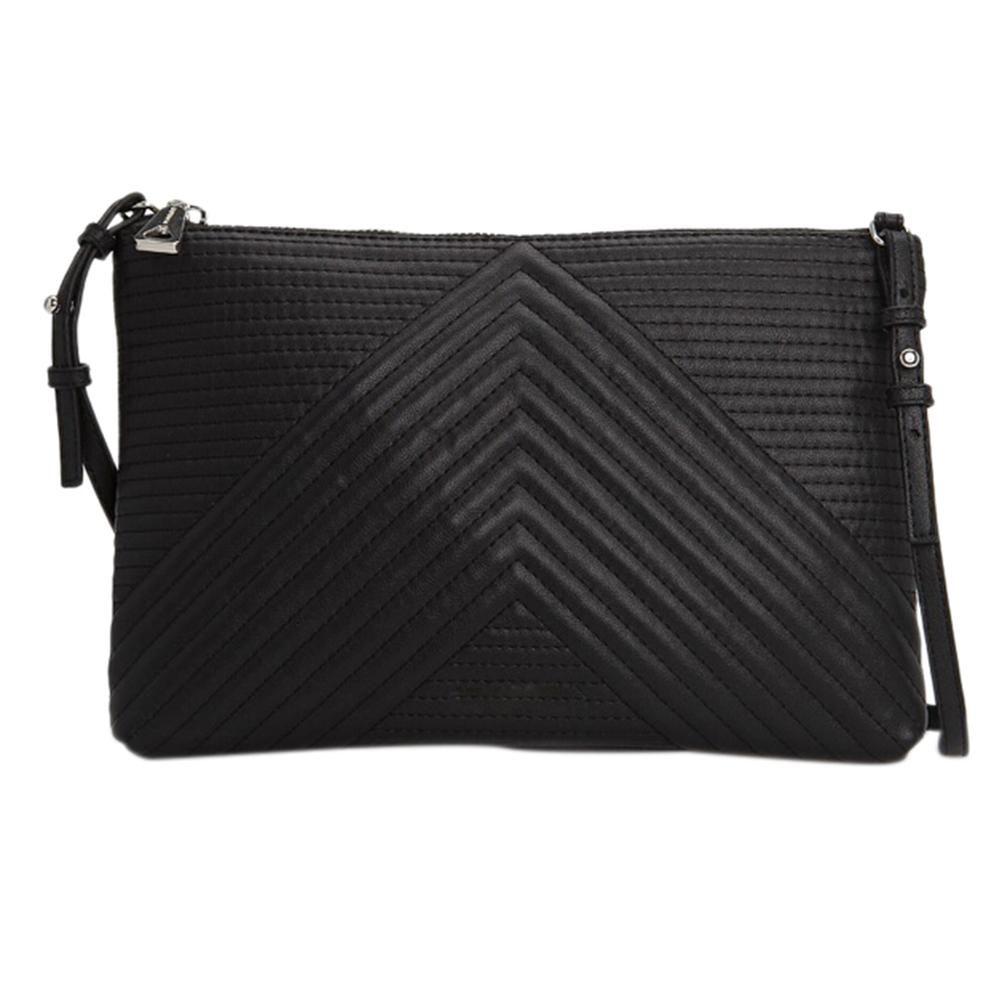 153b5bf37 New Luxury Soft PU Leather Women Messenger Bags Crossbody Bag Black ...