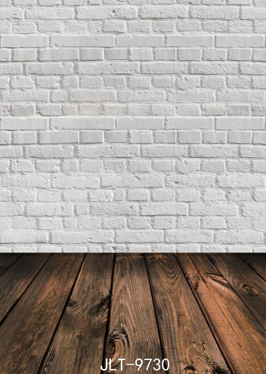 Acheter Photographie De Mur De Brique Blanche Décors De Fond En Bois Pour  Photo Studio Bébé Douche Nouveau Né Bébé Vinyle Tissu 3D De $16.59 Du ...