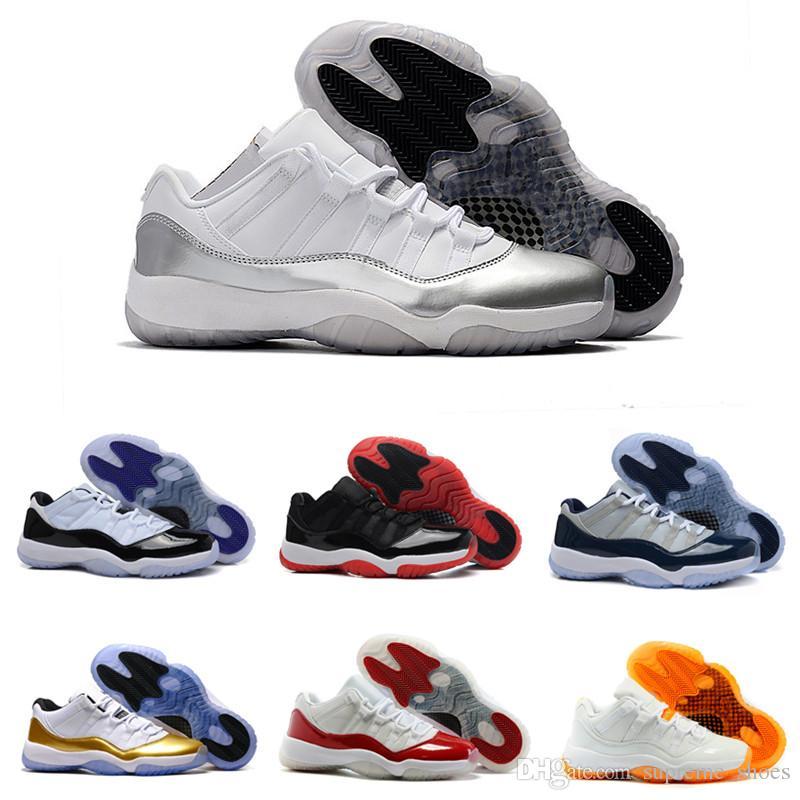 sale retailer 4222f 8206e Großhandel Männer Basketball Schuhe 11 Low Space Jam Mitternacht Navy Gamma  Blau Schwarz Rot Weiß Cool Grey Männer Frauen Turnschuhe 11s Sportschuhe  Von ...