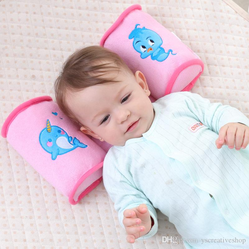 This Pillow Good for childrenNew square summer baby anti-head restraint newborn sleep pillow