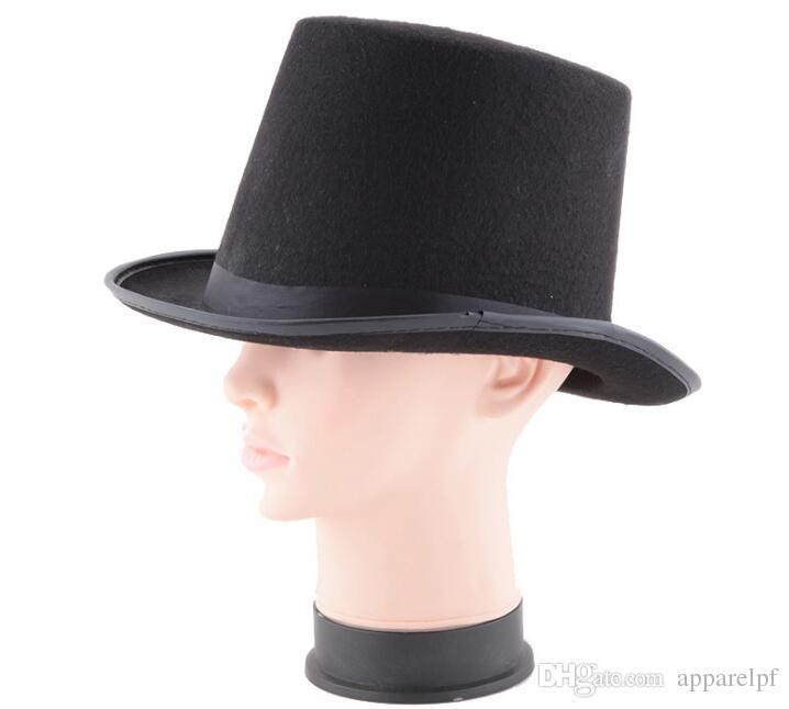 f6e5f1bdff19b Compre Sombrero De Mago Negro Para Niños A  3.05 Del Apparelpf ...