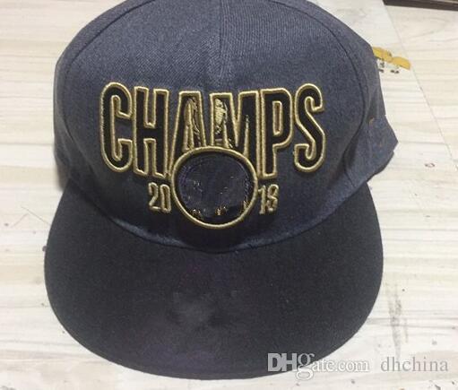 2018 Champs Caps New Basketball Snapback Hats Gray Color Cap Black ... fb10c20b12e