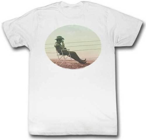 James Dean 1950's Icon Circle Photo In Chair On Beach Adult T Shirt Hip Hop Style Tops Short Sleeve Leisure Tee Shirt Casual Man