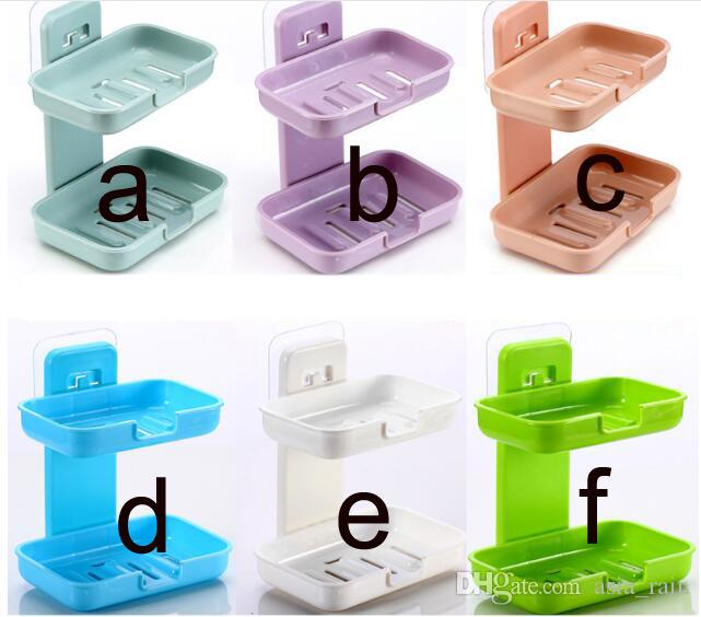 Self Adhesive Soap Holder Bathroom Soap Dishes Wall Mounted - Ceramic soap dish adhesive
