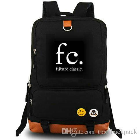 FC backpack Future classic day pack DJ school bag Music packsack Laptop rucksack Sport schoolbag Outdoor daypack
