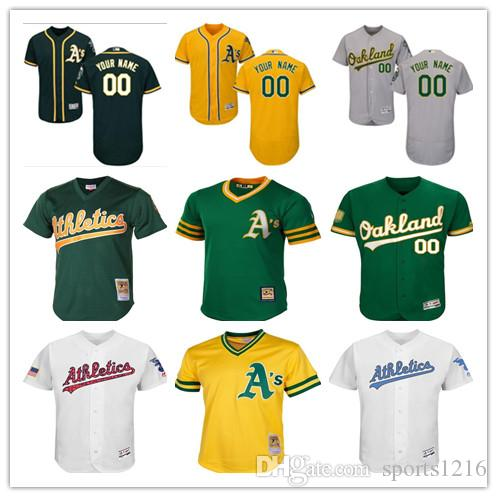 98c5e49b43d ... where to buy 2019 custom mens women youth majestic oakland athletics  jersey personalized name and number