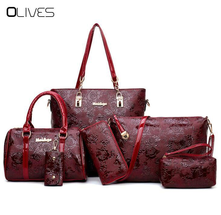 Women S Handbags Fashion Shoulder Bag Female Messenger Bag High Quality Set  Famous Designer Brand Bolsa Feminina Evening Bags Handbag Sale From  Snappya 564e14bc9fa0b