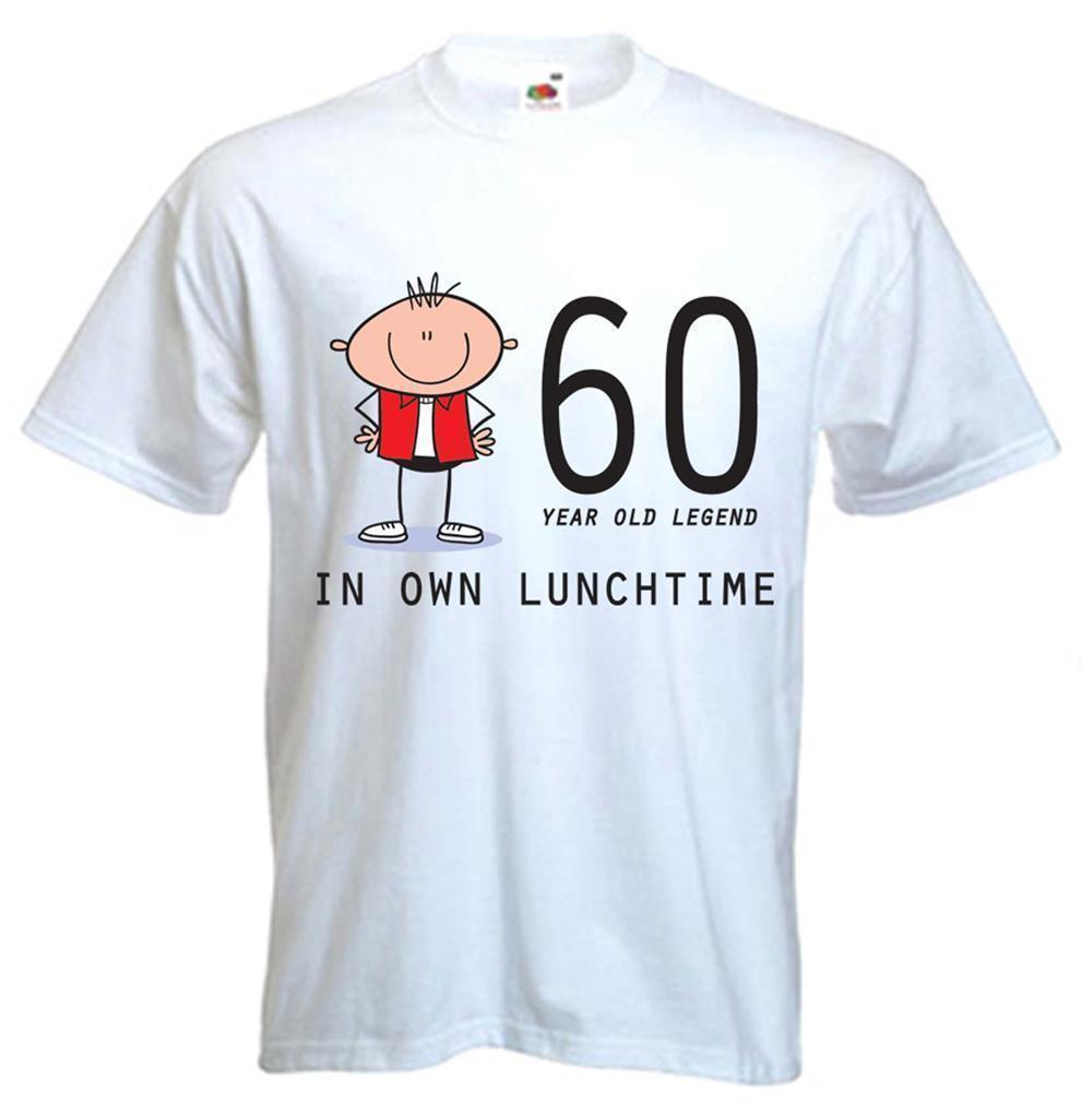 60 YEAR OLD LEGEND T SHIRT 60th Birthday Gift Present Sizes Small To XXXL Shirts Designs Online Shirt Shopping From Yuxin06 138