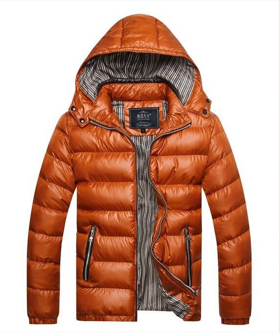 2016 New Arrival Men Winter Fashion Casual Down Parka Hooded Man Coat Jacket Windproof High Quality Plus Size