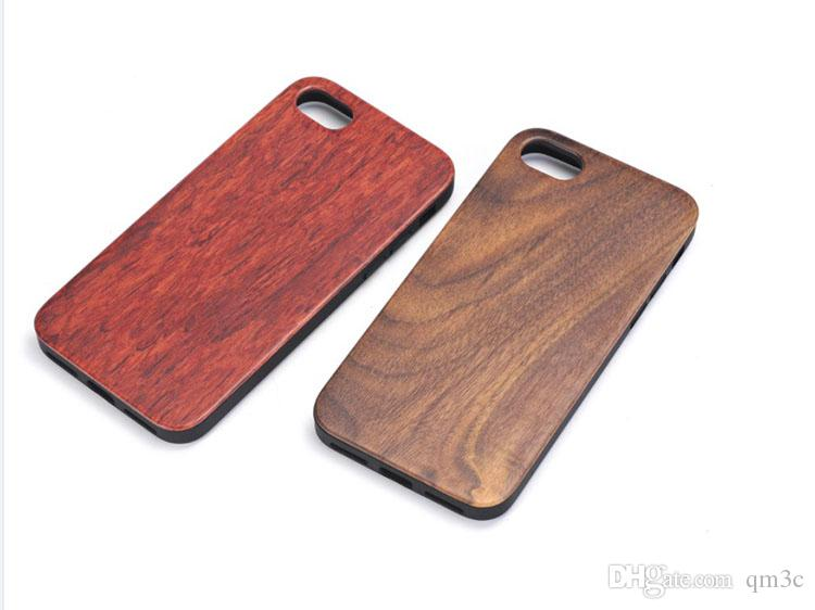 Best Price Shockproof Wood Case For iphone X 7 8 PLUS 6 6s 5 Cell phone Cover TPU Wooden Case Back Cover For Samsung Galaxy S9 S8 S7 S6 edge