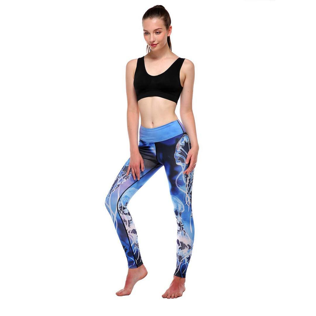 wholesale online uk availability delicate colors Women's Yoga Pants Print Workout Leggings Fitness Sports Gym Running Yoga  Athletic Pants women leggings sport fitness Gym Mujer