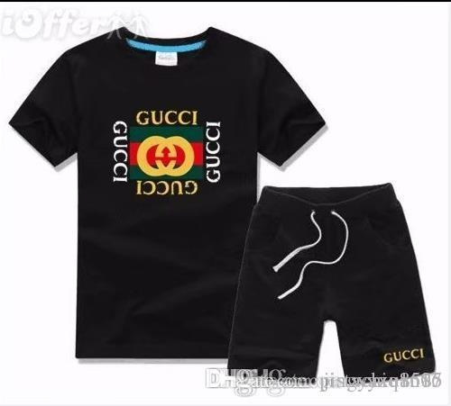 42e231fb516a Boy Kids Sets Kids T-shirt And Pant Children Cotton Sets Baby Boys ...