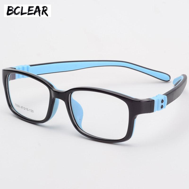 4fad536d93 2019 BCLEAR TR90 Silicone Glasses Children Flexible Protective Kids Glasses  Diopter Eyeglasses Rubber Child Spectacle Frame Boy Girl From Buafy