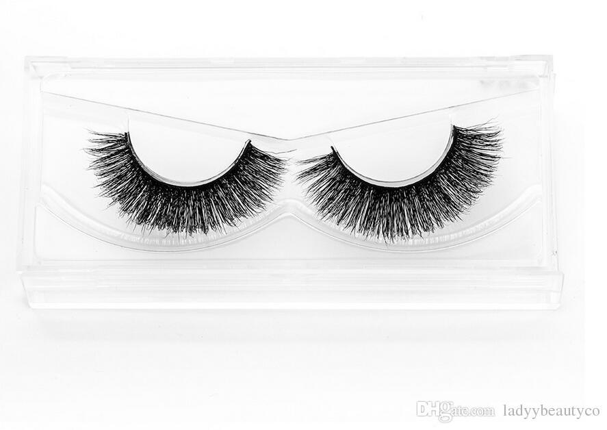 3D-MA09 Wholesale Natural 3D 100% Real Mink False Eye Lashes/ Mink Individual Fake Eyelashes Extensions For Makeup