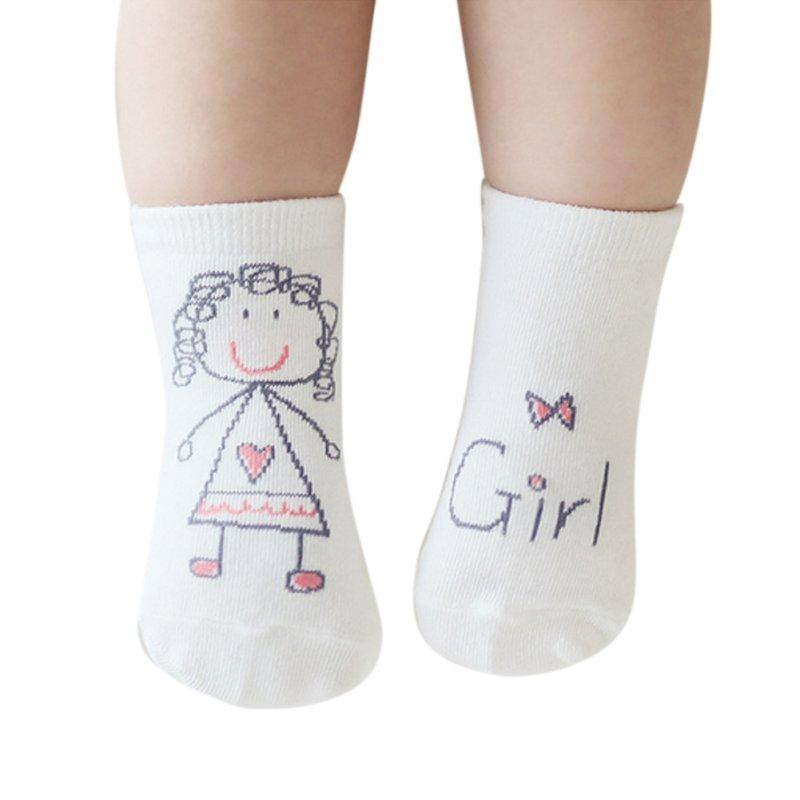 2019 Baby Boys Girls Infant Spring Cotton Cartoon Socks Warm Anti Slip Floor Sock Leg Warmer Special Buy Girls' Baby Clothing Socks