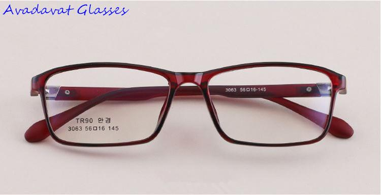 79114520e89 Men   Women Glasses Frame TR90 Lightweight Spectacles Prescription  Eyeglasses For Clear Lenses Prescription Eyeglasses Womens Glasses Frames  Glasses Frame ...