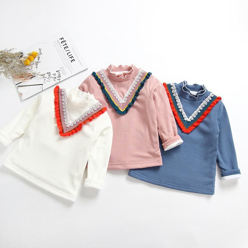 279138bae13a 2018 New Fashion Girls Baby Infant Winter Sweater Bottom Shirts Girl ...