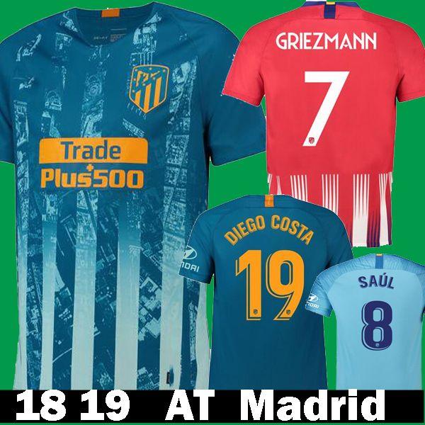 95d9bc482a580 Camiseta De Fútbol De La Liga De España 2018 2019 Thailand Soccer Jesrey 18  19 Camisa De Futebol 18 19 Camiseta De Futbol Maillot De Foot Envío  Gratuito Por ...