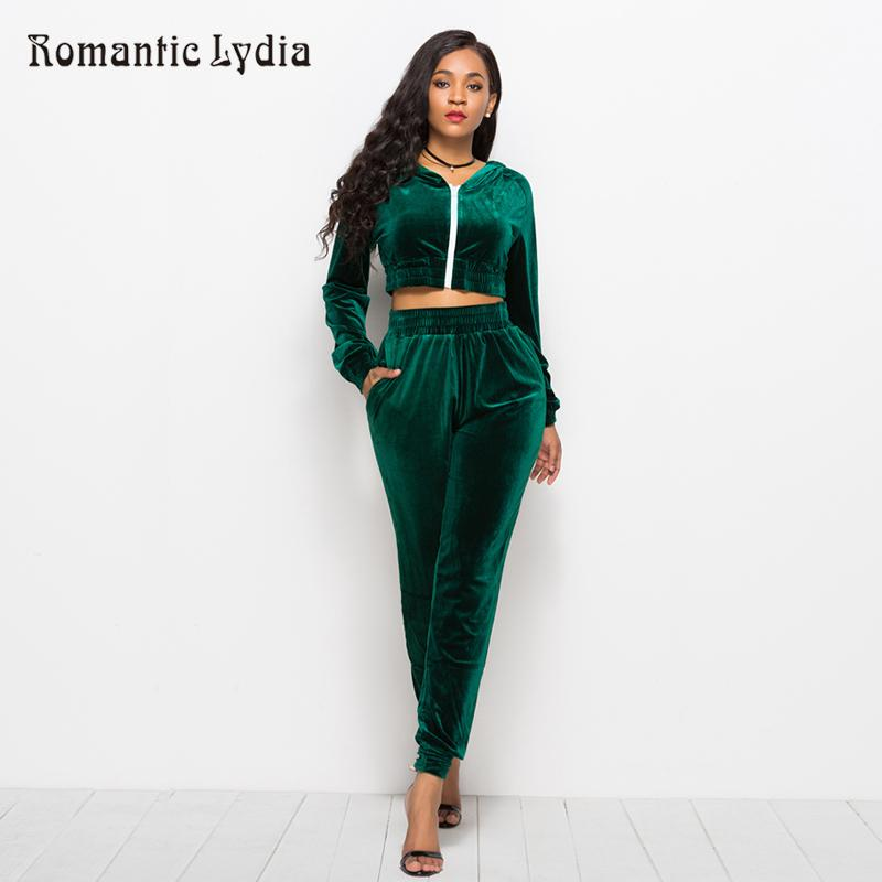2018 Velour Suit Women Set Top And Pants Casual Velvet Tracksuits Velours  Suits Femme Plus Size UK 2019 From Sugarlive e0be9370b