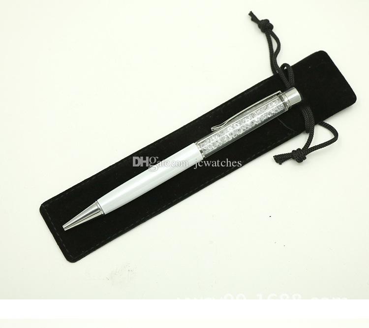 Einzelner Bleistift-Beutel-Feder-Kasten mit Seil für Brunnen-Kugelschreiber-Samt-Feder-Beutel-Halter-Großverkauf