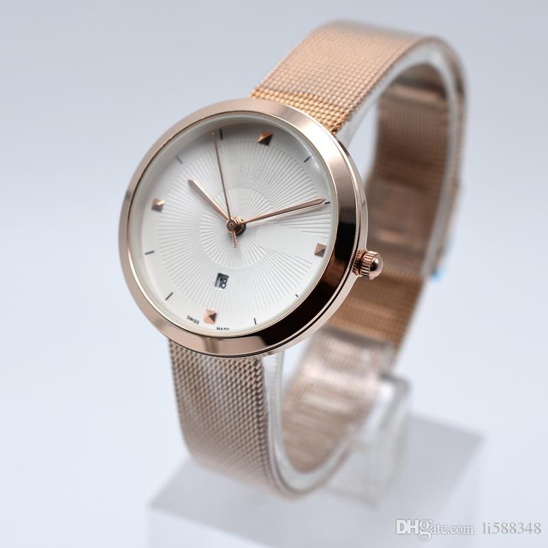 Großhandel Berühmte Marke Uhren Frauen Mode Lässig Quarz Armbanduhr