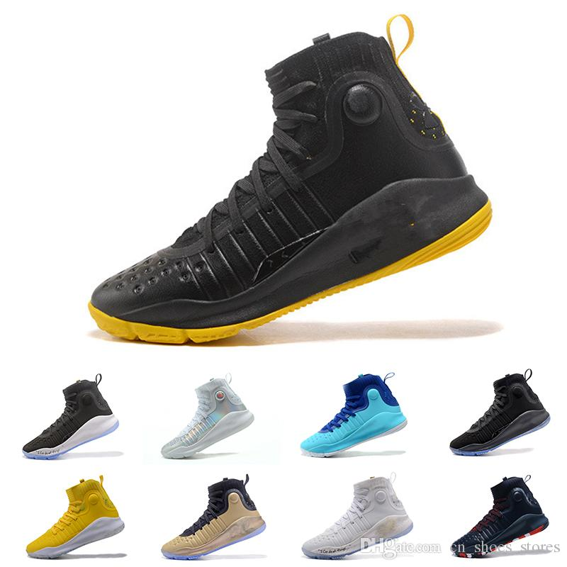 9b1d163a10 Fashion Stephen Curry 4 Mens Basketball Shoes Gold Championship MVP Finals  Sports Sneakers Trainers Designer Runnning Shoes for Men Online with  $131.68/Pair ...
