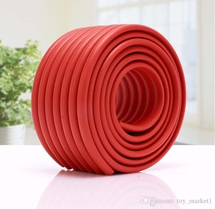 Child Baby Safety Softy Table Edge Corner Guard Cover Cushion Protector Bumper Wholesale 2M long anti-collision protection