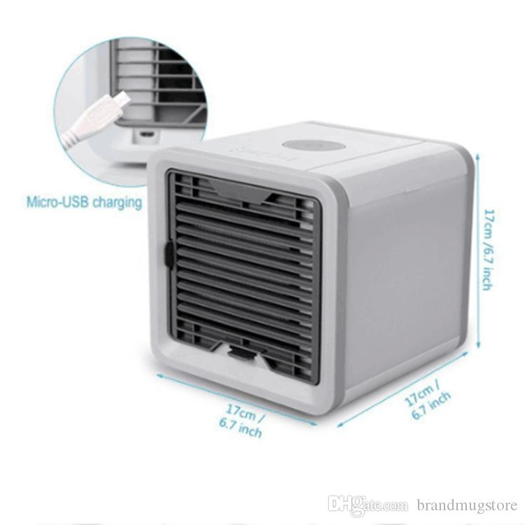 Top Portable Air Conditioner Air Cooler Led Light Mini Air Personal