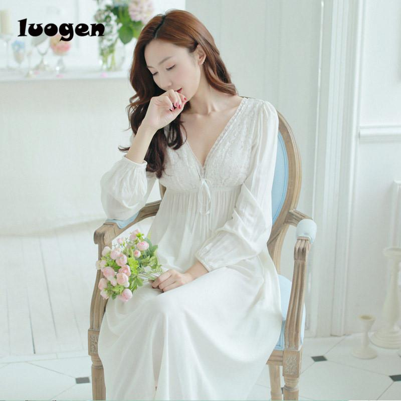 V-neck White Sexy Long Sleep Lounge Sleepwear Long Sleeve Backless ... ac1923d94