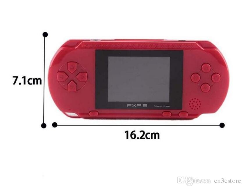 PXP3 Portable Mini Game Video Console 16 Bit PVP TV-Out Games For PXP Card Station 16bit Gaming Console Player Kids Intelligence games
