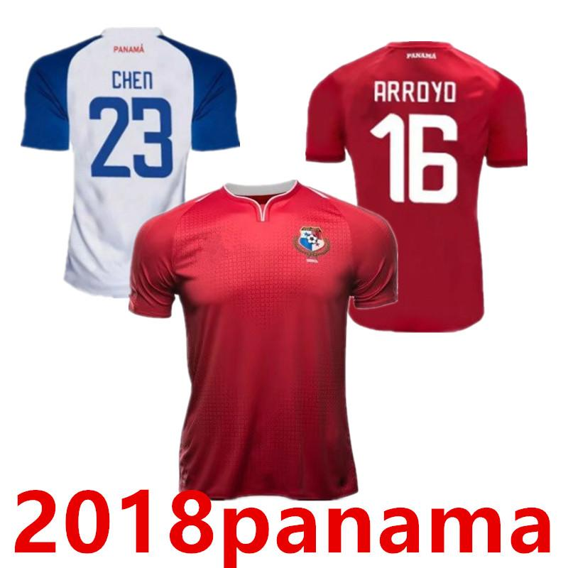 173348b6a New 2018 Panama World Cup Jerseys TORRES QUINTERO B.PEREZ BROWN ...