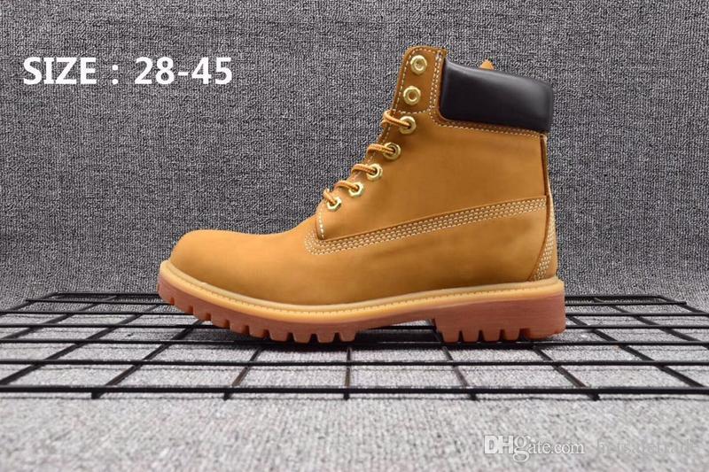 Stiefel aus echtem Leder Männer Frauen Schneeschuhe Casual Martin Stiefel Großhandel Fashion Brand Schuh