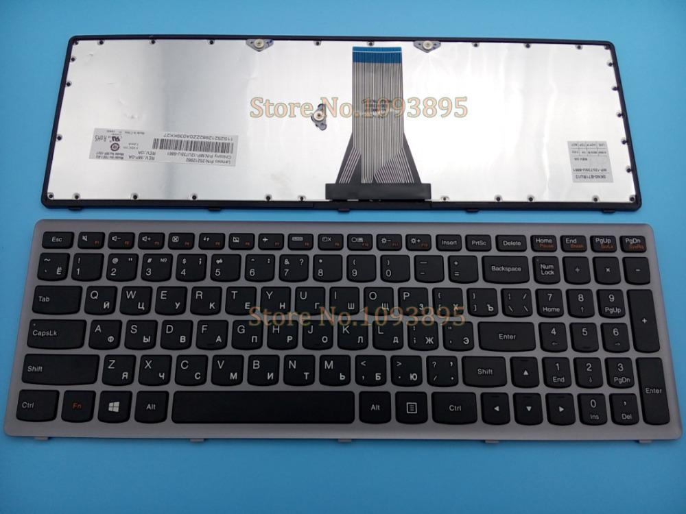 b8708cdaffd 2019 New Russian Keyboard For Lenovo Ideapad 25213632 V 136520QS1 RU  25212982 T6E1 RU MP 12U73SU 6861 Russian Keyboard Gray Frame From Aralia,  ...