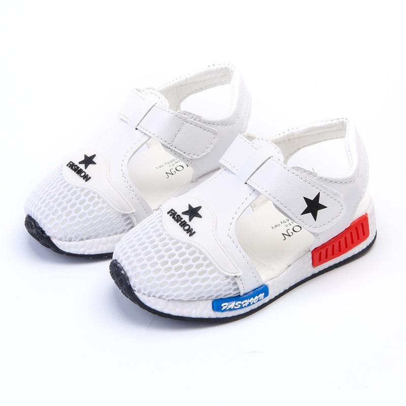 e0048f54c73a7f New Tide Summer Children s Casual Sandals Boys Girls Breathable Mesh Shoes  Factory Price Sale Wholesale Online with  11.99 Piece on Dhtradeguide s  Store ...