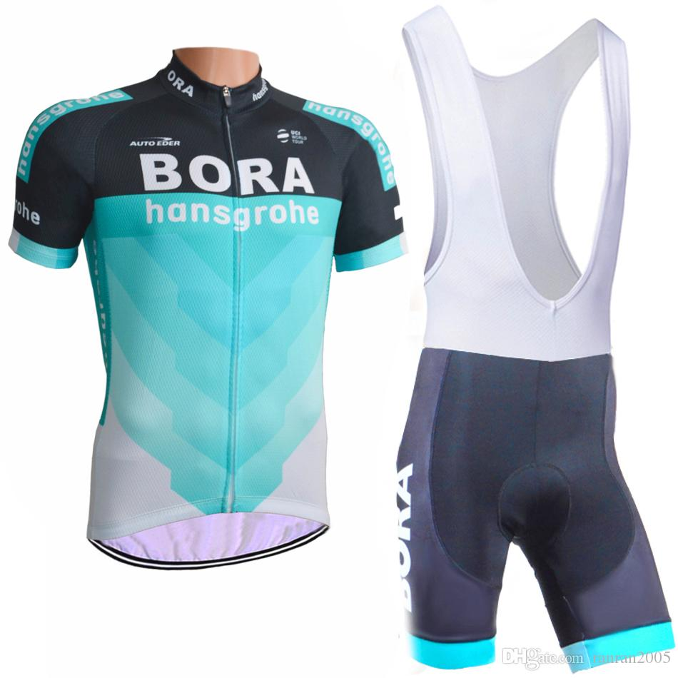 24dd198d4 2018 Bora New Cycling Jersey 3D Gel Pad Bike Shorts Ropa Ciclismo Quick Dry Team  Bicycling Wear Mens Summer Bicycle Maillot Suit Mens Cycling Shorts ...