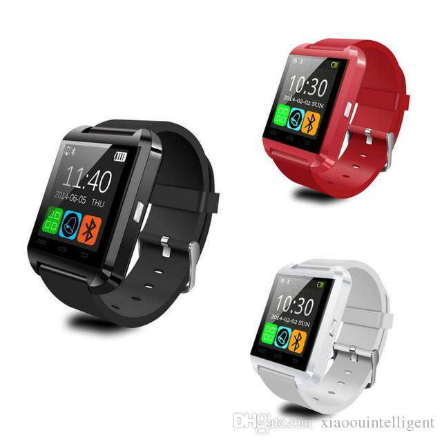 d80fd08b4 Bluetooth Smart Watch U8 WristWatch Sport Watch With Pedometer Message SMS  Sync Call Reminder Remote Camera For Android IOS Phone Smartwatch Phone  2015 ...