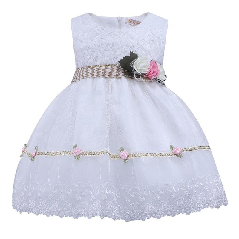 a149be78ac4d 2019 Vintage Lace Baby Girl Wedding Pageant Dress Infant Princess ...