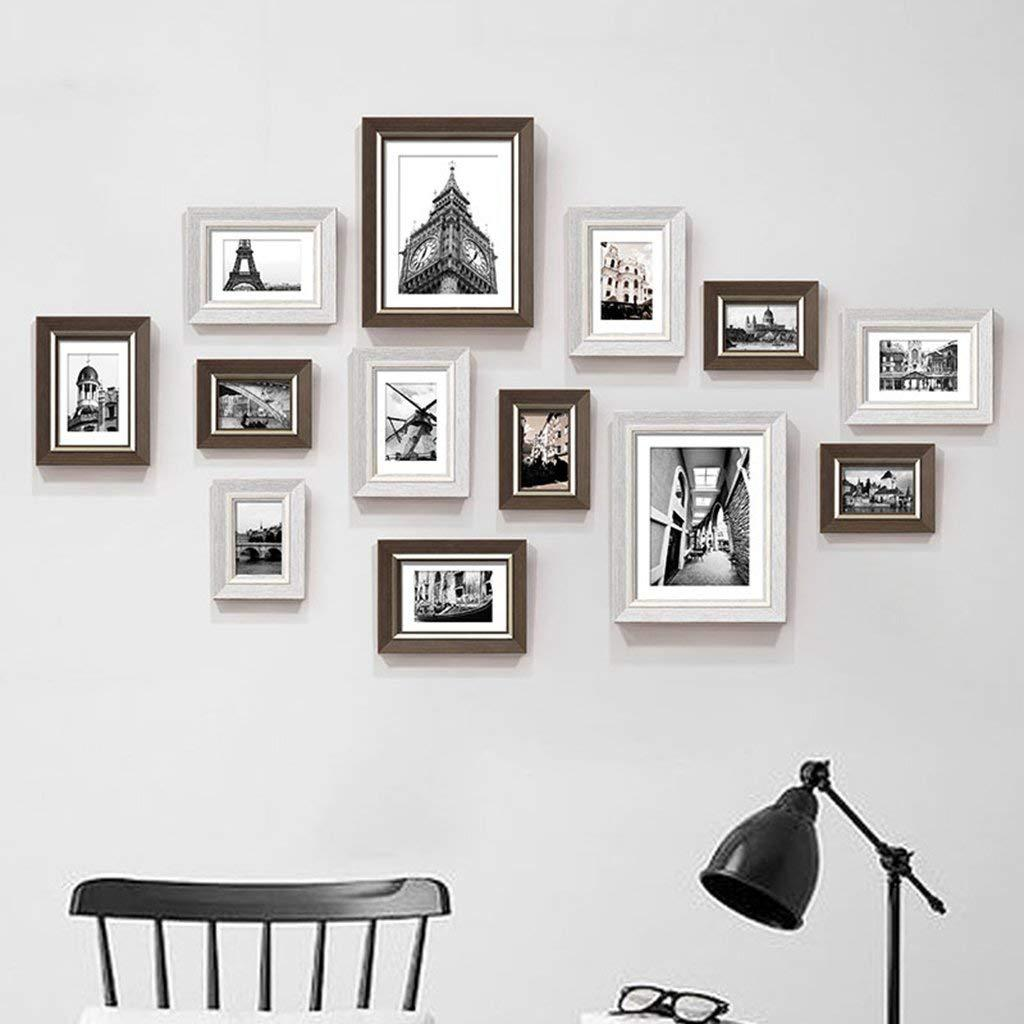 2018 Photo Frame Wall Gallery Kit Includes:Perfect Frame,Hanging ...