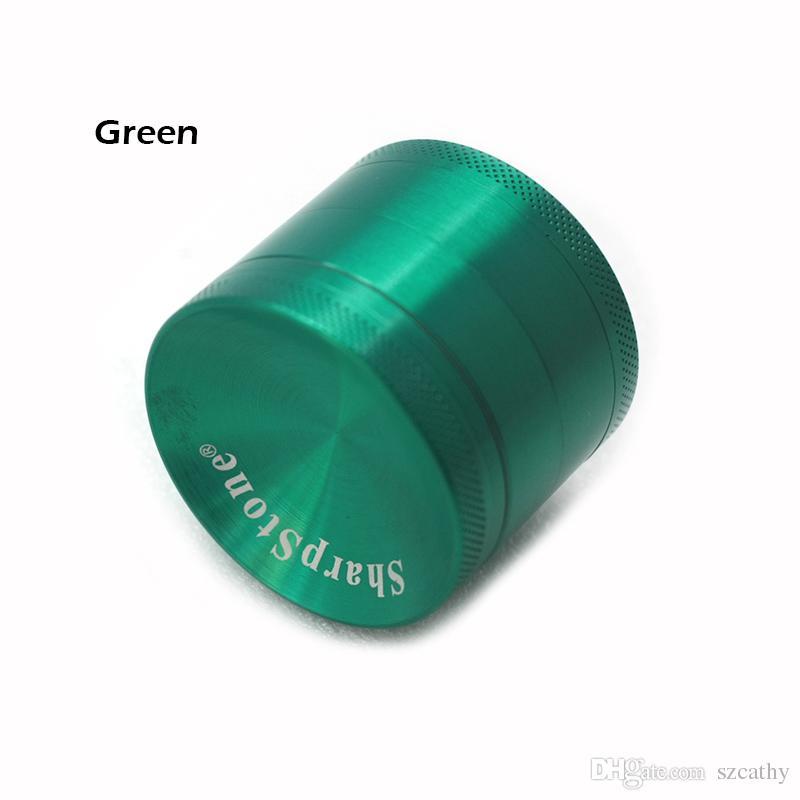 Grinder concavo Herb Spice Crusher 40mm 50mm 55mm 63mm Metal Grinder 4 Parti in lega di zinco Materiale OEM Benvenuto