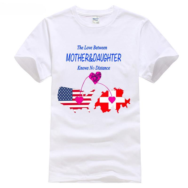 b2dd605e89d399 Trendsetting The Love Between Mother   Daughter Swit Stylisches T Shirt  Damen Girls T Shirts2018 T Shirt Fashion Tee Shirt Deals Online Shopping  Tee Shirts ...