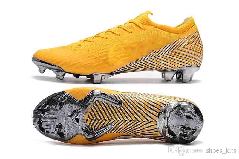 c7078cae7a4f Satın Al Krem Renk Futbol Çizmeler Erkekler Mercurial Superfly Vi 360  Elitefg Futbol Ayakkabı Yüksek Ankl E Cr7 Futbol Cleats Chuteiras Futebol  Orijinal